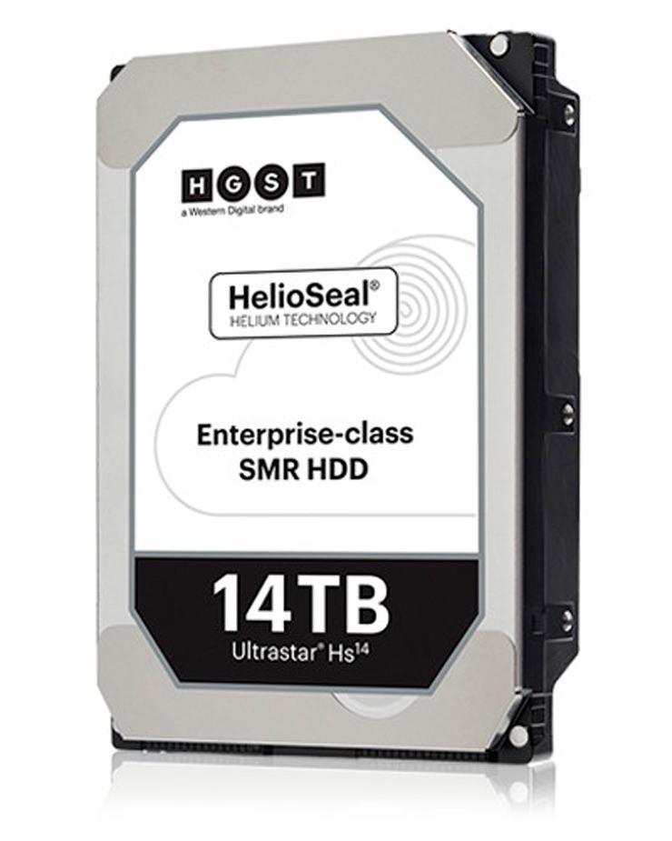 HGST представила первый в мире HDD на 14 ТБ