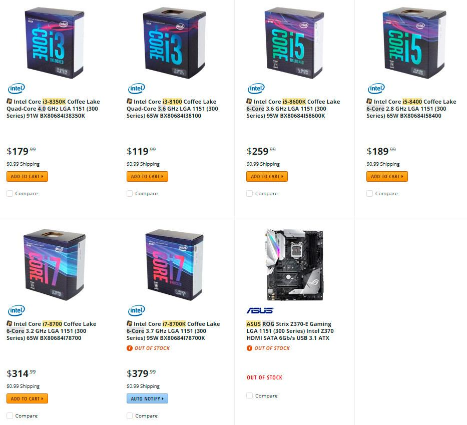 Intel Core i7 8700K delidded 1