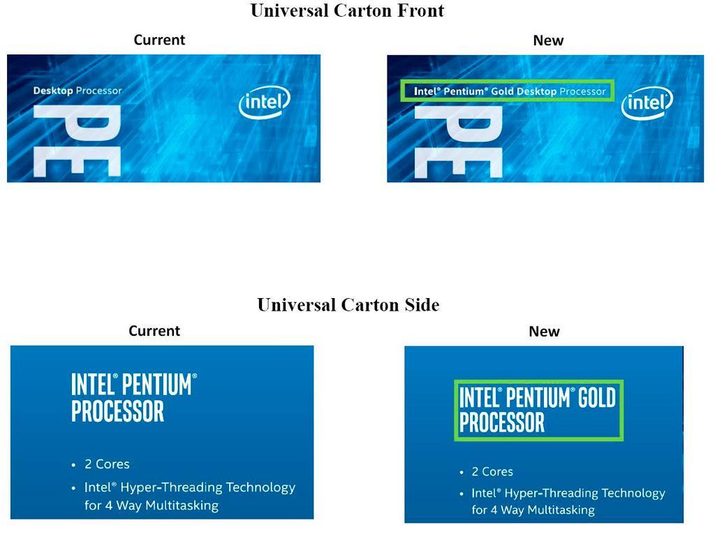 Intel Pentium Gold 1