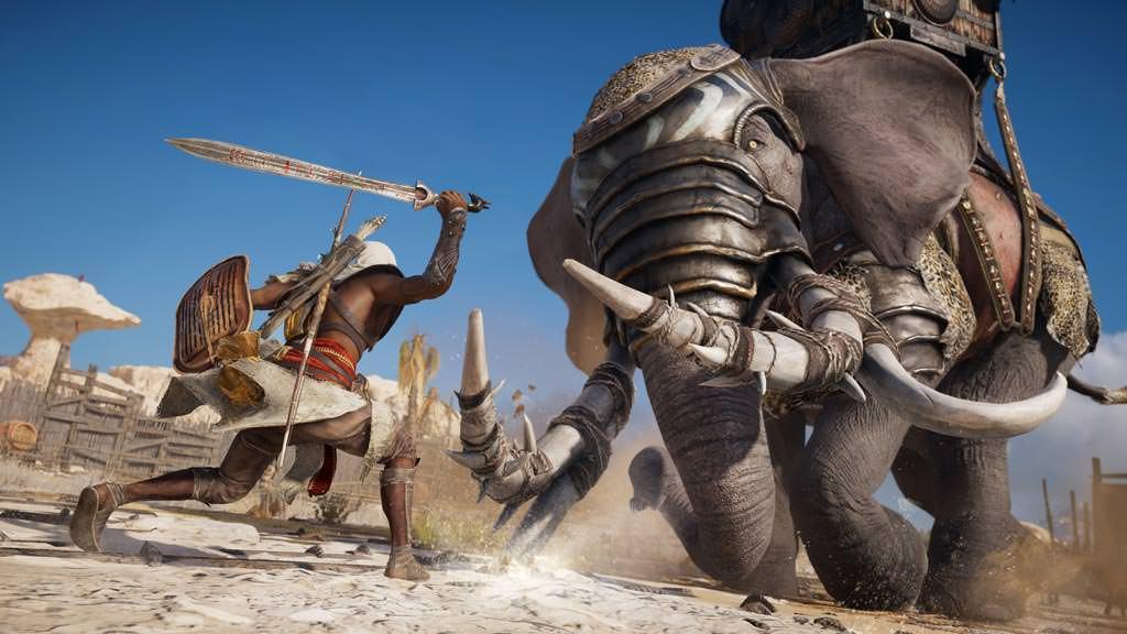 Компания Ubisoft назвала системные требования Assassin's Creed: Origins