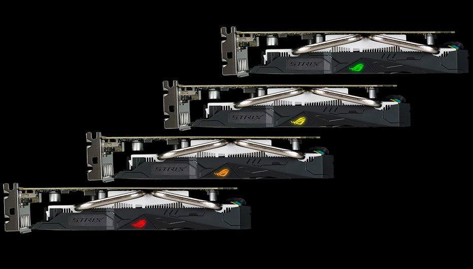 ASUS ROG Strix Radeon RX 560 EVO 3