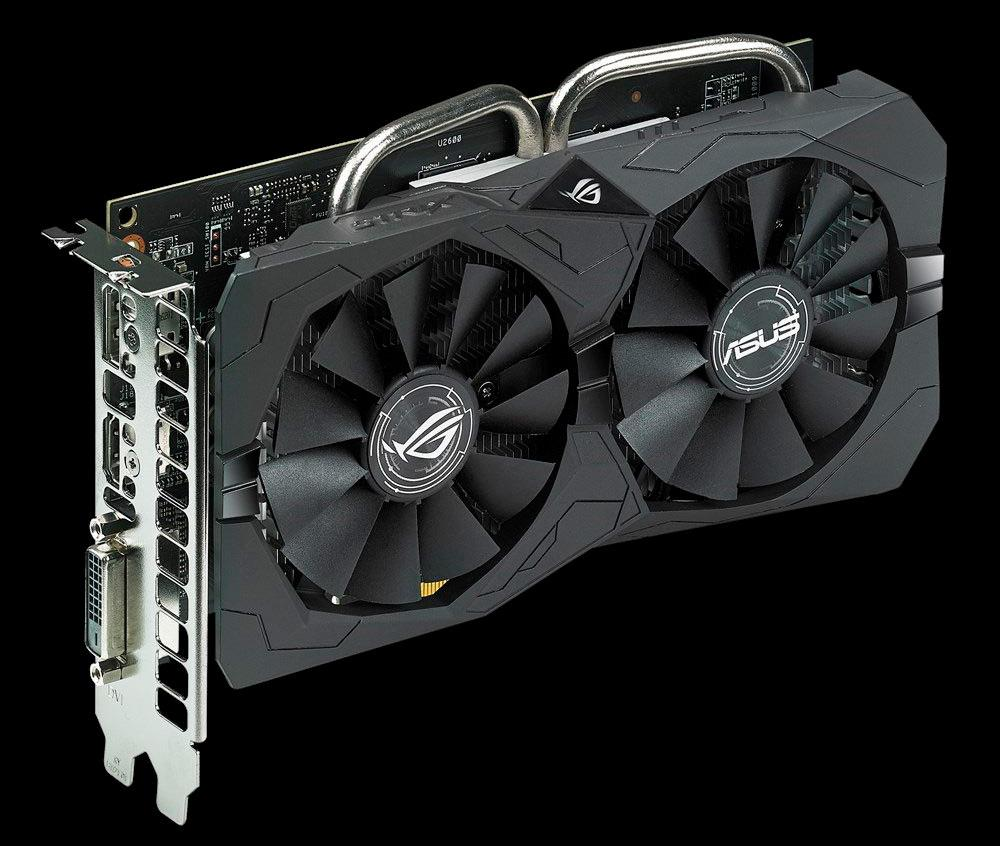 ASUS ROG Strix Radeon RX 560 EVO 4