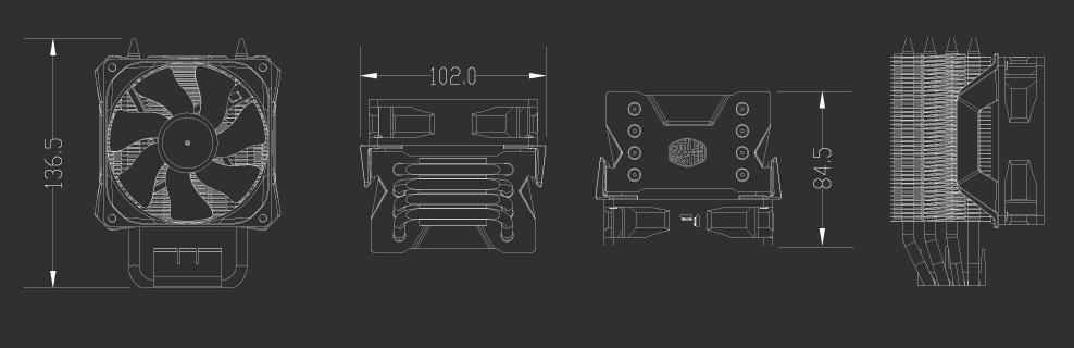 Cooler Master Hyper H411R 2