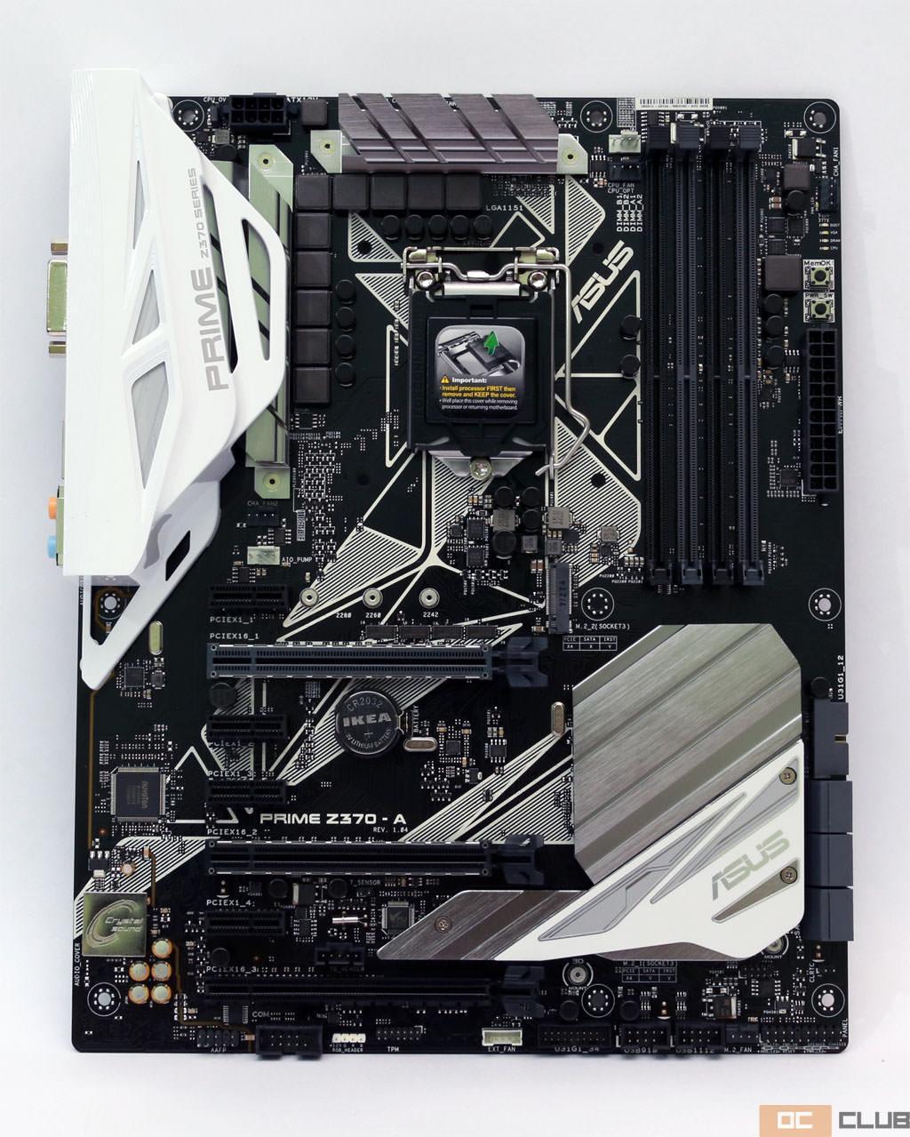 Intel z370 i7 8700 06