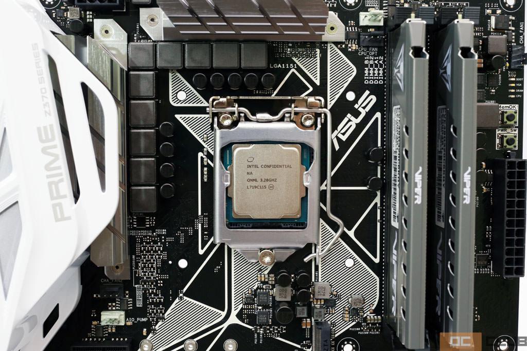 Intel z370 i7 8700 12