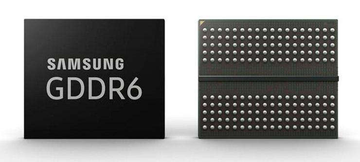 Samsung готова выпускать видеопамять GDDR6