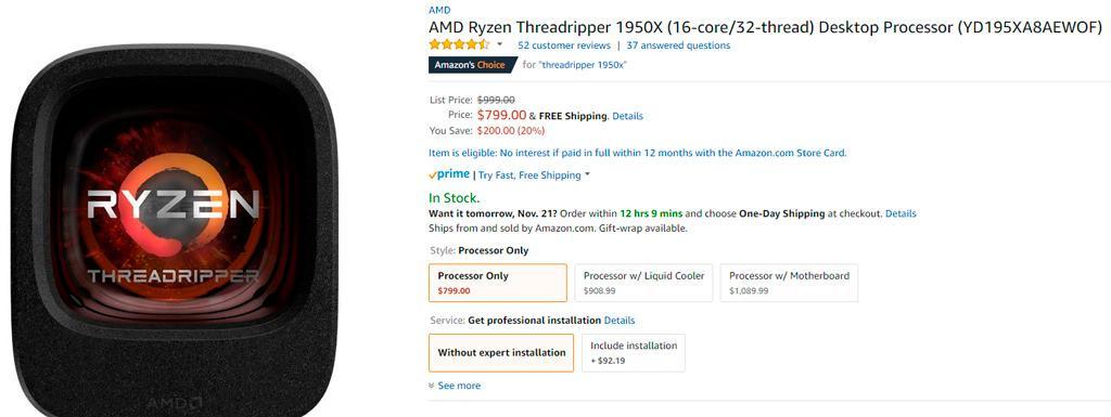 AMD ryzen Threadripper price cut 2