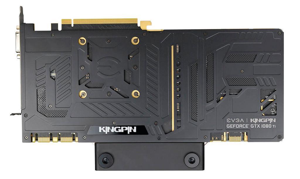 EVGA GeForce GTX 1080 Ti Kingpin Hydro Copper 4