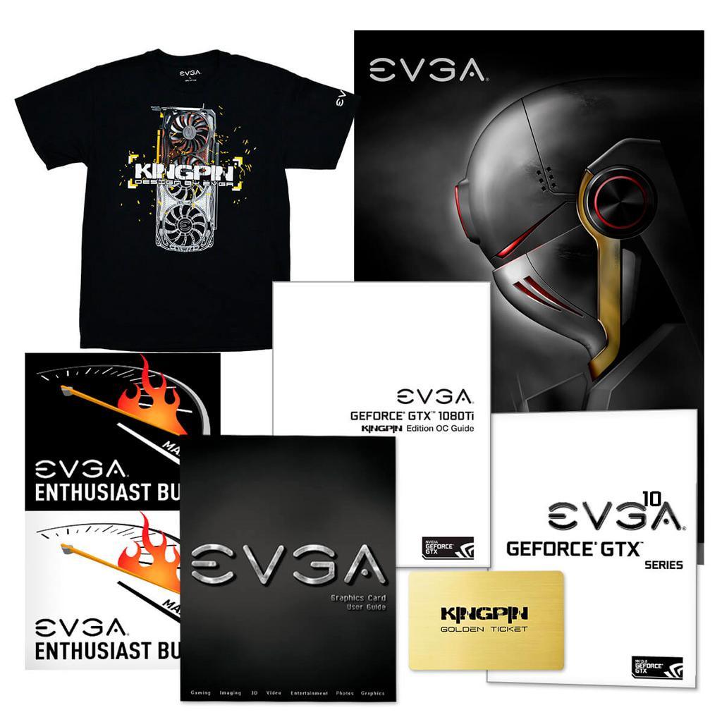 EVGA GeForce GTX 1080 Ti Kingpin Hydro Copper 5