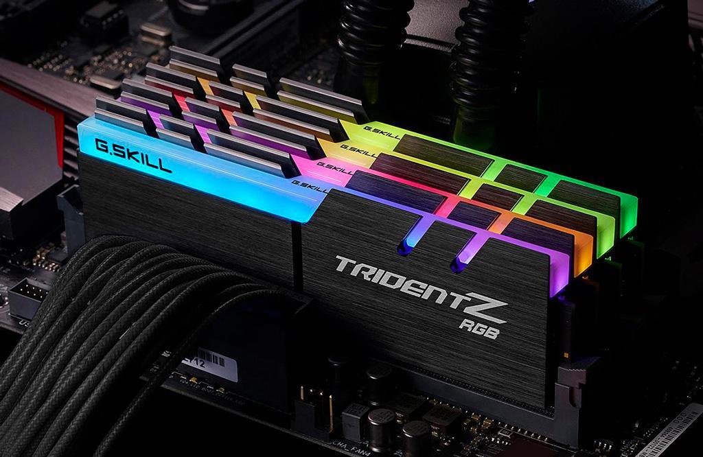 G.SKILL выпускает «киты» оперативной памяти Trident Z RGB DDR4-4266 в сверхнизкими задержками