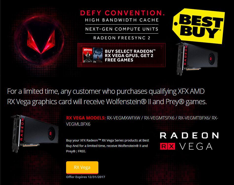 AMD RX Vega gives wolfenstein2 prey 2