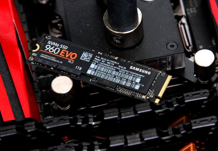 Samsung 960 Pro Evo Firmware Update fail 1