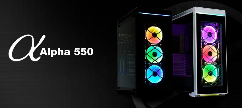 Lian Li Alpha 330 Alpha 550 2