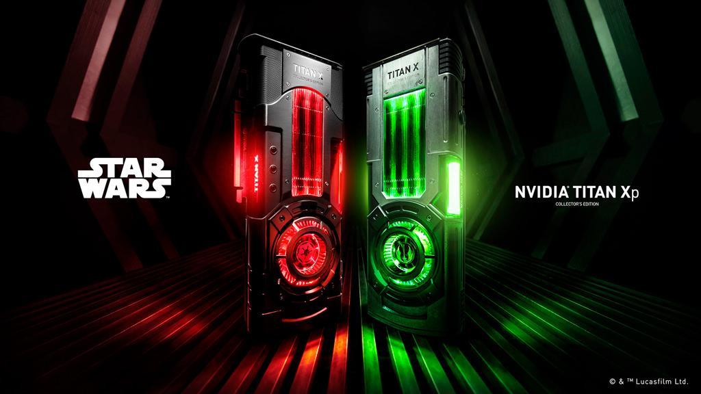 NVIDIA выпускает видеокарты Titan Xp Collector's Edition для любителей вселенной Star Wars