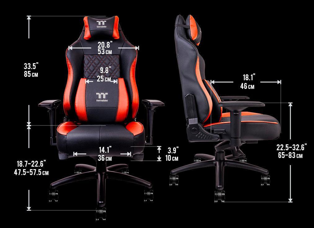Thermaltake X Comfort Air Gaming Char 3