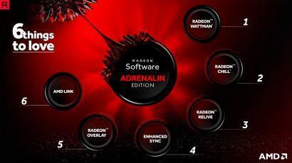 AMD выпустила драйвер Radeon Adrenalin Edition (17.12.1)