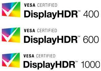 VESA утвердила спецификации стандарта DisplayHDR 1.0