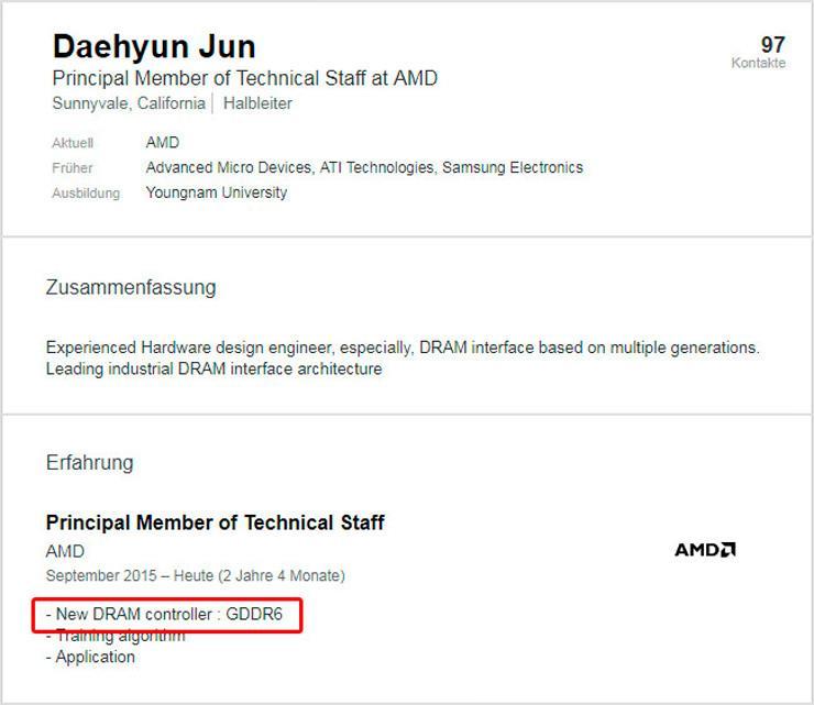 AMD GDDR6 controller 2
