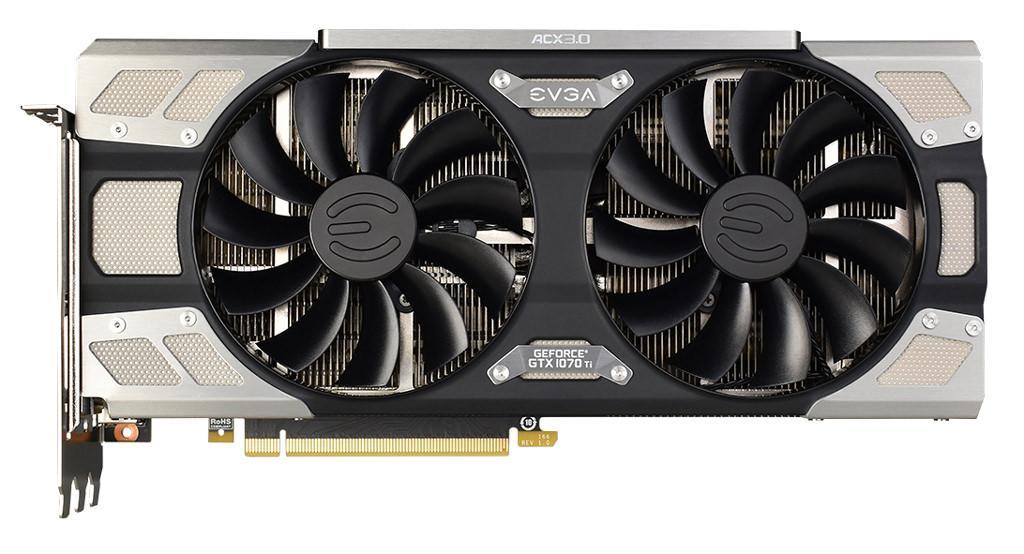 EVGA GeForce GTX 1070 Ti FTW Ultra Silent Gaming 2