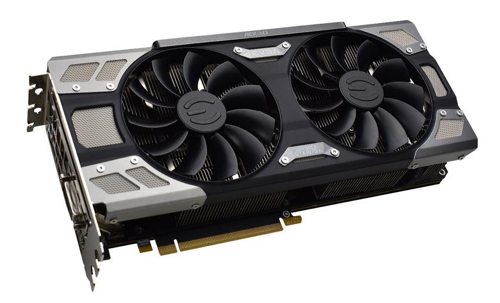 EVGA GeForce GTX 1070 Ti FTW Ultra Silent Gaming 5