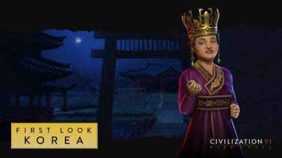 Одной из новых фракций в Civilization VI в рамках обновления Rise and Fall станет Корея
