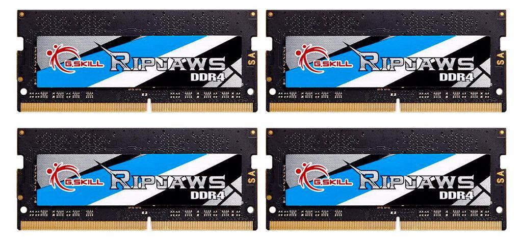 G.Skill анонсирует комплекты оперативной памяти Ripjaws SO-DIMM DDR4-4000. Самая быстрая SO-DIMM