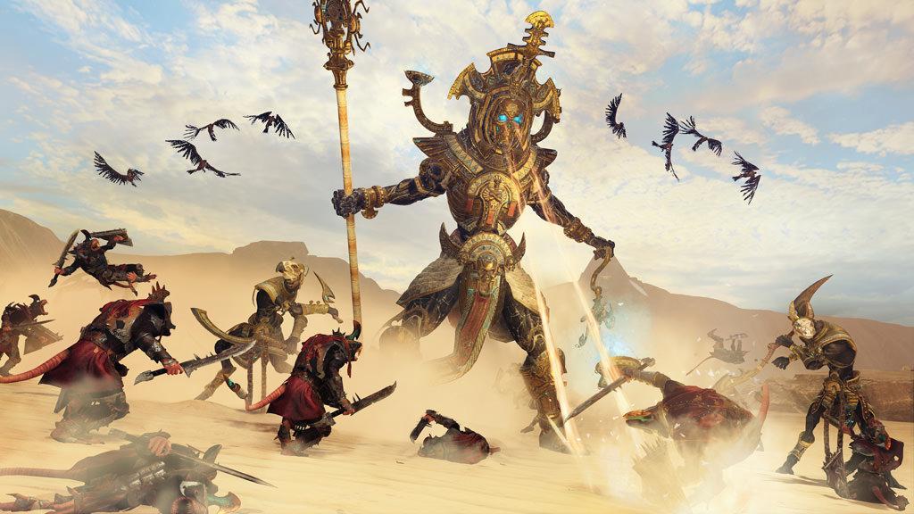 Названа дата выхода дополнения Rise of the Tomb Kings в Total War: Warhammer 2