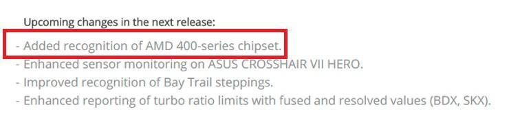 Еще одно упоминание о наборах чипсетов AMD 400-ой серии