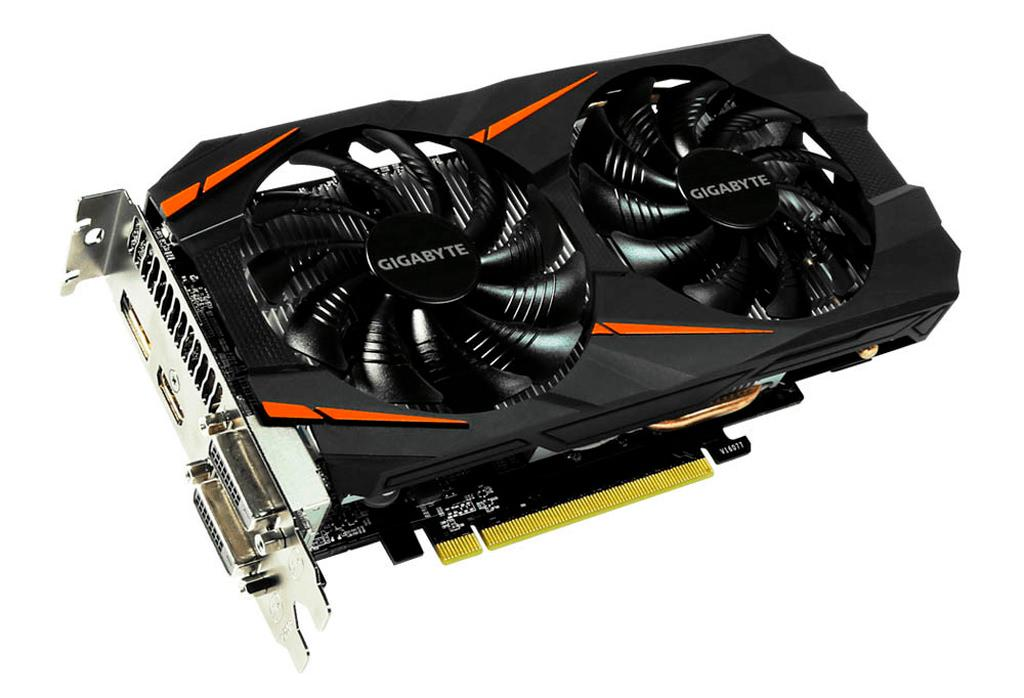 Gigabyte GeForce GTX 1060 5 GB Windforce OC 1