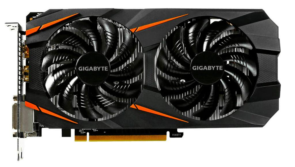 Gigabyte GeForce GTX 1060 5 GB Windforce OC 2