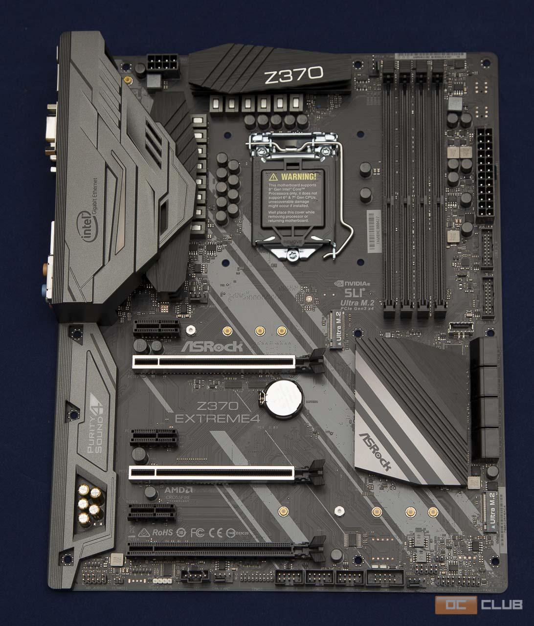 Обзор материнской платы ASRock Z370 Extreme4. Пожалуй, лучшее соотношение цена/качество на рынке