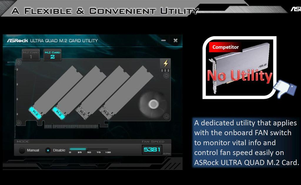 ASRock Ultra Quad M.2 6
