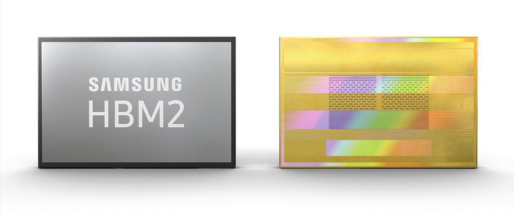 Samsung приступает к массовому производству 8 ГБ микросхем память HBM2 Gen 2