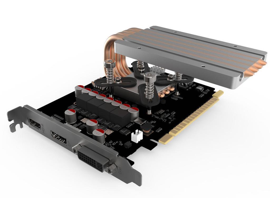 Streacom DB4 GPU cooler 3