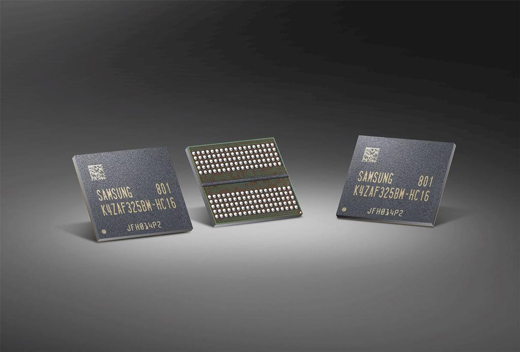 Samsung начинает массовое производство микросхем памяти GDDR6