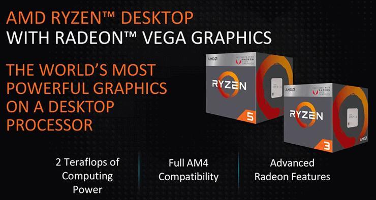 APU AMD Raven Ridge получат контроллер памяти DDR4-2933