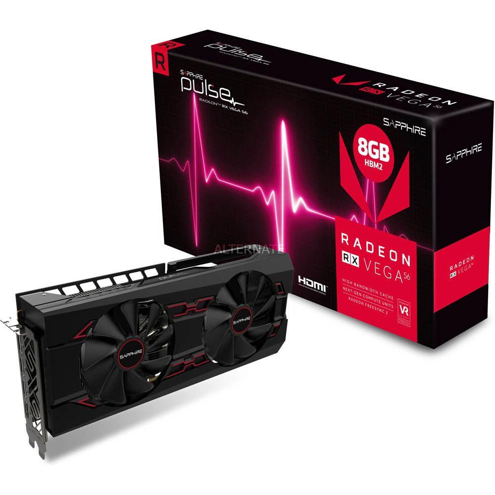 Sapphire готовит видеокарту Radeon RX Vega 56 Pulse