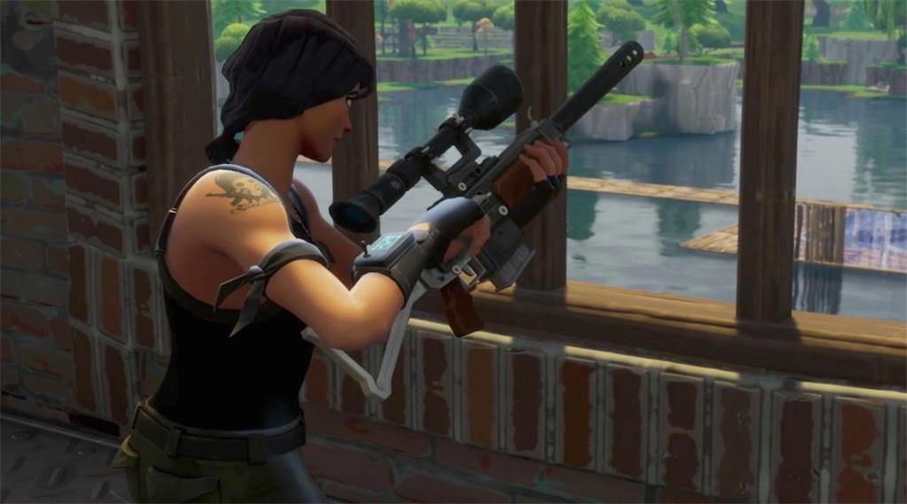 fortnite sniper shootout 2