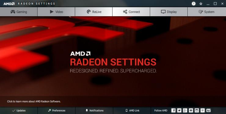 Драйвер AMD Radeon Adrenalin Edition обновлен (18.1.1 Alpha)
