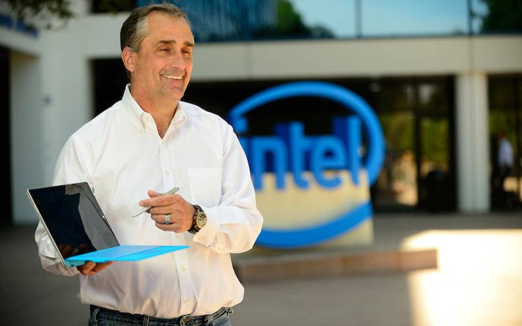 Intel Brian Krzanich sell 24B 2