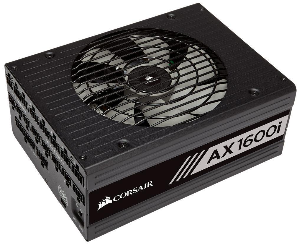 Corsair представила AX1600i – «титановый» блок питания за 0