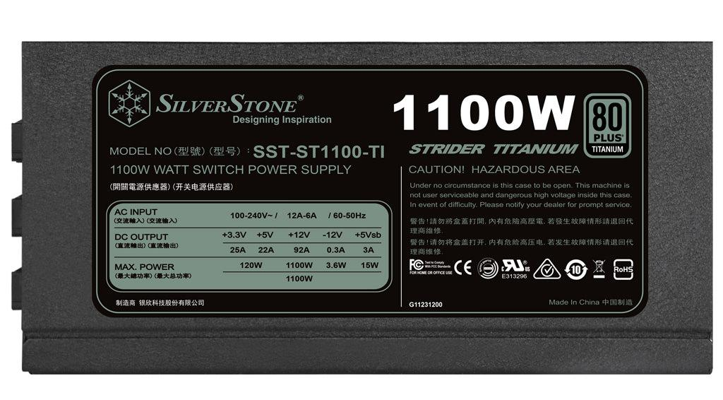 silverstone 1100w 23