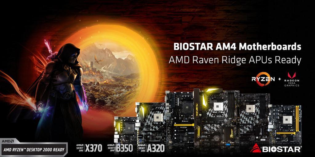 Biostar new BIOS Ryzen 2000 ready