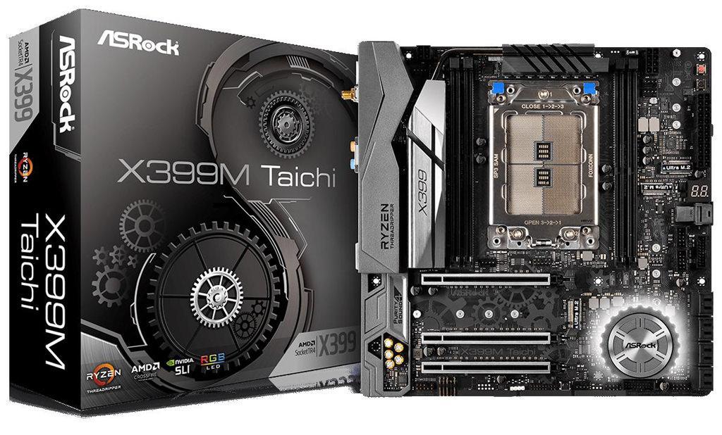 ASRock X399M Taichi – первая компактная плата для процессоров AMD Threadripper