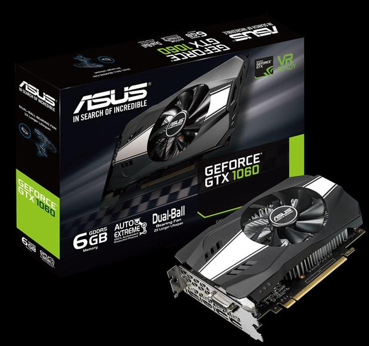 ASUS GeForce GTX 1060 6GB Phoenix 1