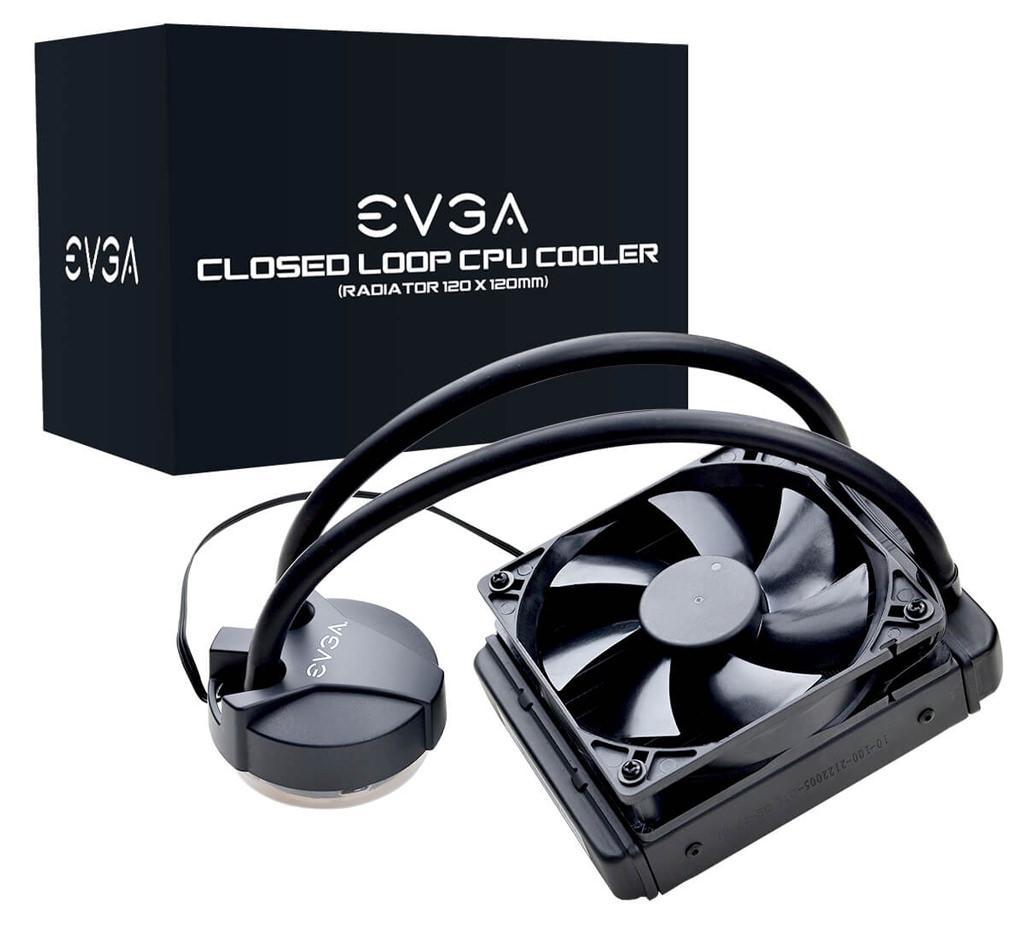 EVGA CLC 120 CL11 – система водяного охлаждения всего за