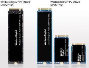PC SN720 и PC SN520 – две новые серии SSD-накопителей от Western Digital