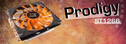Prodigy ST1266 – недорогой низкопрофильный процессорный кулер Xigmatek