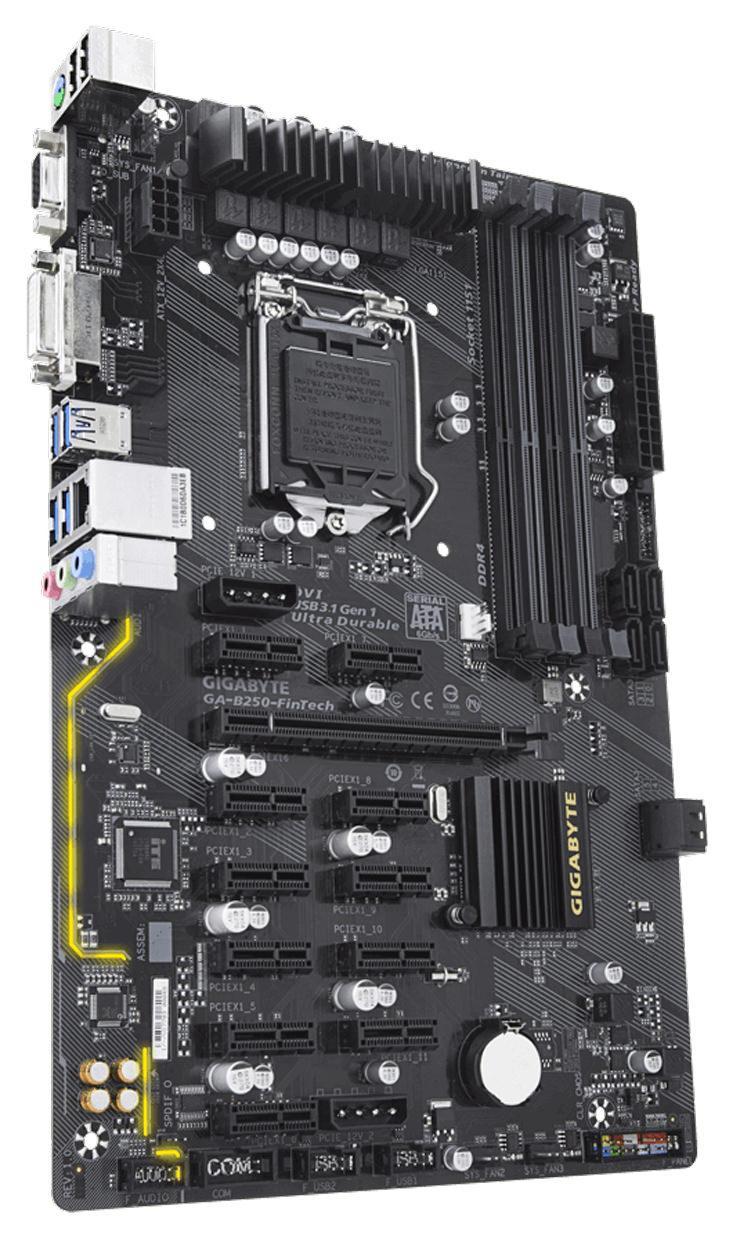 Gigabyte B250 FinTech 3