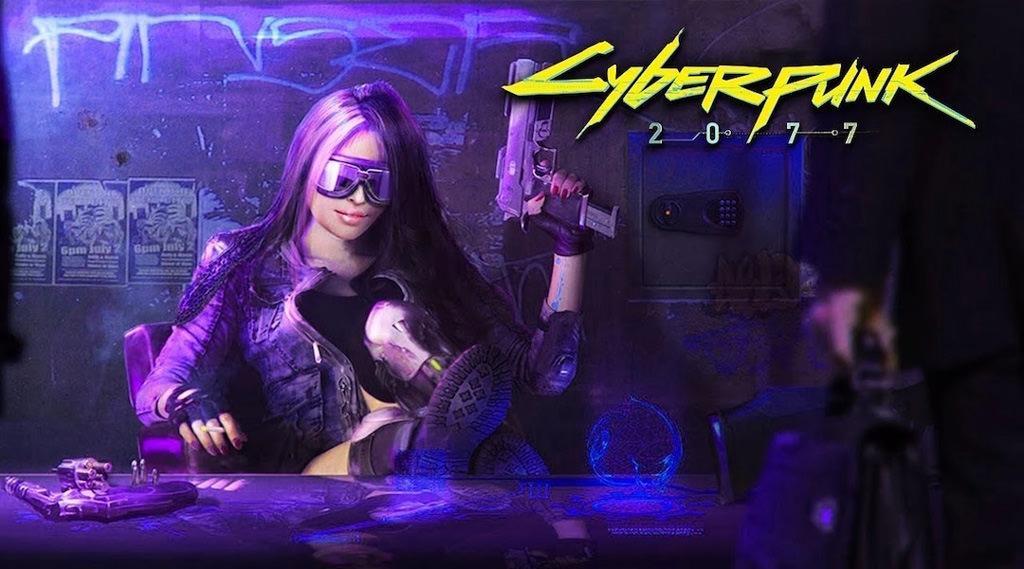 cd projekt red e3 2018 cyberpunk2077 1